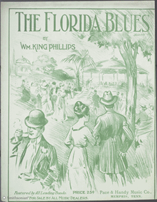 """The Florida Blues"" by Wm. King Phillips sheet music"